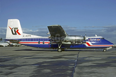 Air UK Handley Page Herald 213 G-AVPN (msn 176) ORY (Christian Volpati). Image: 909115.