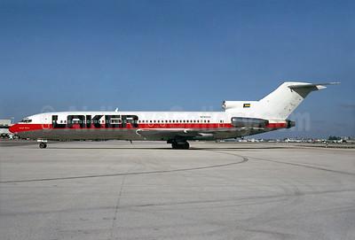 Laker Airways (Bahamas) Boeing 727-281 N740US (msn 20467) (USAir colors) MIA (Bruce Drum). Image: 104417.