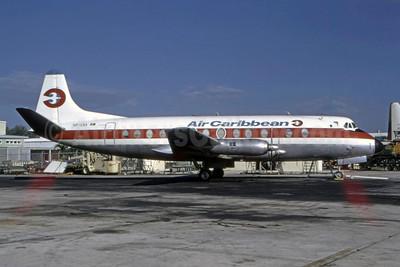 Air Caribbean Vickers Viscount 807 VP-LKA (msn 282) FLL (Bruce Drum). Image: 105269.