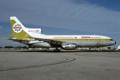 BWIA International-Trinidad and Tobago Airways Lockheed L-1011-385-3 TriStar 500 9Y-THA (msn 1222) MIA (Bruce Drum). Image: 103904.