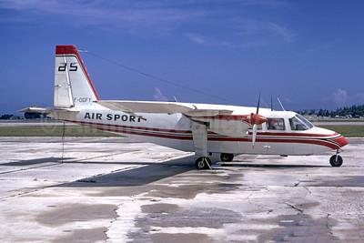 Air Sport Britten-Norman BN-2A-9 Islander F-OGFY (msn 268) FLL (Bruce Drum). Image: 105416.
