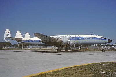 Damaged beyond repair at Santo Domingo on September 22, 1998