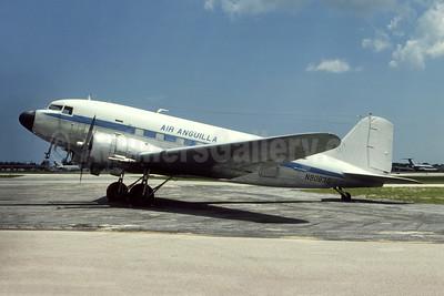 Air Anguilla Douglas C-47A-DK (DC-3) N90830 (msn 13050) FLL (Bruce Drum Collection). Image: 951582.