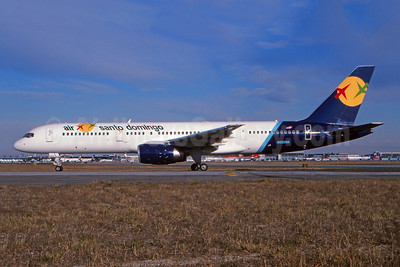 Operated by TMA, in service SDQ - JFK June 27, 2003