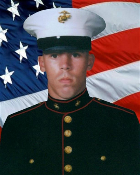 """Marine Lance Cpl. Daniel M. McVicker 20, of Alliance, Ohio died from an improvised explosive device while conducting combat operations against enemy forces near Al Qaim, Iraq. He was assigned to Combat Service Support Detachment 21, 2nd Force Service Support Group, II Marine Expeditionary Force, Cherry Point, North Carolina. As part of Operation Iraqi Freedom he was attached to Regimental Combat Team 2, 2nd Marine Division, II Marine Expeditionary Force (Forward). He died on October 6, 2005.<br /> <br /> The day of the funeral turned out clear and sunny. It was the second week of October 2005, the first hint of autumn in the air, and those who came to say goodbye to Lance Cpl. Daniel McVicker bundled themselves against the chill.<br /> <br /> McVicker had been outgoing and popular at West Branch. He wore earrings and loved fast cars. He sang in musicals - Guys and Dolls, The Wizard of Oz, Grease. He stayed active in the school concert choir, Young and Alive. During senior year, he served as one of the school's mascots, the assistant Warrior Chief. """"Everybody loved him,"""" said classmate Shawna Morrow, Wade's wife.<br /> <br /> His parents said he had volunteered several times for duty in Iraq. Finally, in late August 2005, the Marines sent him. Less than two months later, a roadside bomb detonated under the Humvee he was driving near al-Qaim, in western Iraq. The explosion killed McVicker and another Marine from Alabama. Both men were 20. It happened Oct. 6. Daniel, 10:6.<br /> <br /> The young man, """"his face like lightning, his eyes like flaming torches,"""" was gone. """"So many ifs,"""" said Mark McVicker, Daniel's father, """"so many could-have-beens ..."""" By coincidence, Tim Hardy returned home from Iraq the day word came of McVicker's death. He showed up to the funeral in his dress blues. Osberg had seen McVicker only a week earlier in Iraq, just by chance. They ate lunch together, said their goodbyes. Like Hardy, Osberg had come home with his unit. But he couldn't bring him"""