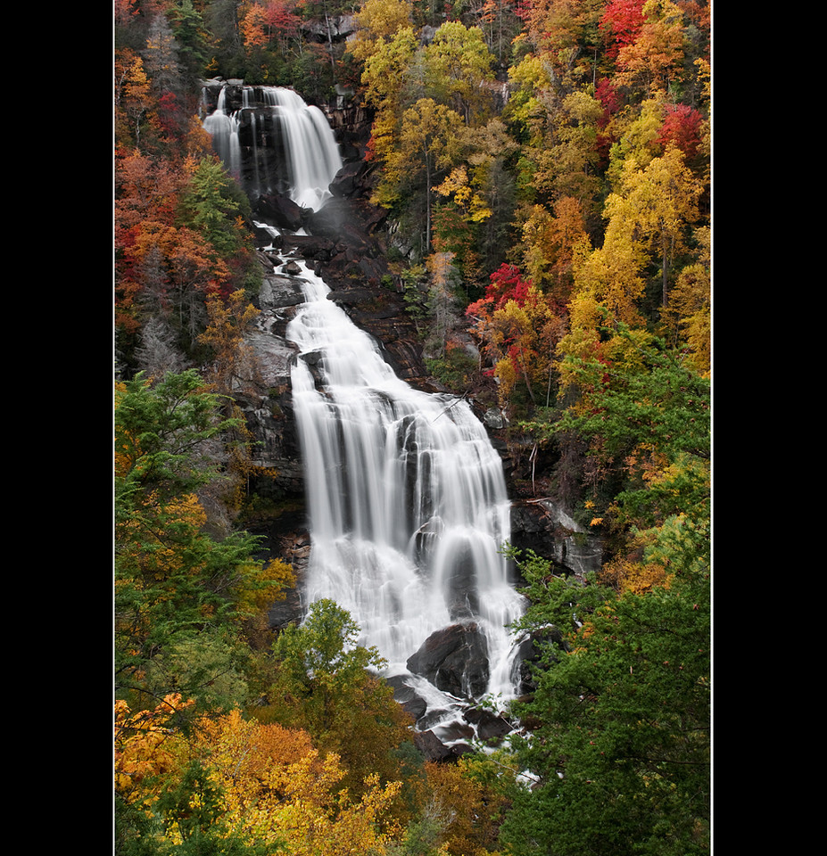 Whitewater Falls in Living Color