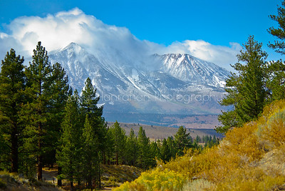 Winter in the Eastern Sierra Mountains