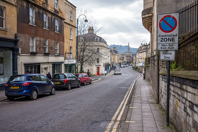 Signposts into Bath
