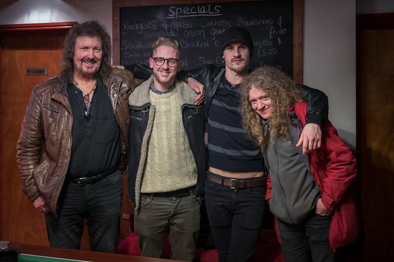 Russ, Max, Dixie & Steve