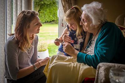 Michala, Zoe & Nana