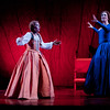 Soprano Maureen McKay is Nannetta and soprano Ellie Dehn is Alice Ford in San Diego Opera's FALSTAFF. February, 2017. Photo by J. Katarzyna Woronowicz Johnson.