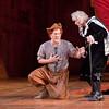 (L-R) Tenor Simeon Esper (Bardolfo) and tenor Joel Sorensen (Dr. Caius) in San Diego Opera's FALSTAFF. February, 2017. Photo by J. Katarzyna Woronowicz Johnson.