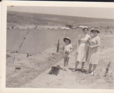 Familia Veiga na mina