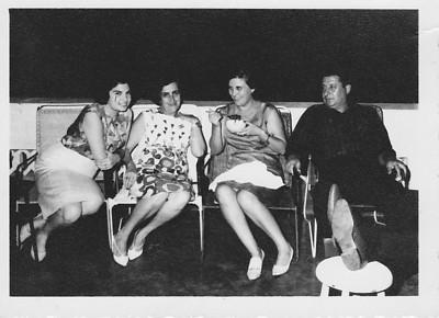 Sra do Brazinha, Judite Mendonça, Aurora Tavares e Manuel Tavares