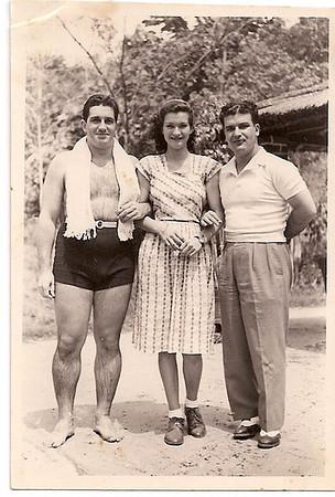 Mussungue 1949 Dr. Santos David, Joana Almeida Santos e Almeida Santos