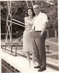 Piscina do Dundo, Mussungue, 1965 Martinez, filha Joana Almeida Santos
