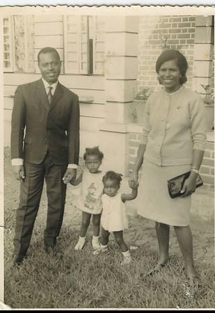 Arlindo Cabral e família