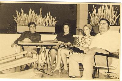 Dundo,  Carlos Aires Marques, sra. do Aires Marques, Lisa Pereira Santos e Aires Marques