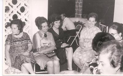 Dundo 1972 - Casa do Santos David/Mº João  Monserrate Canhao Veloso, Gina Mota, Sao Gameiro, Anita Bastos, ...Emilia Bexiga