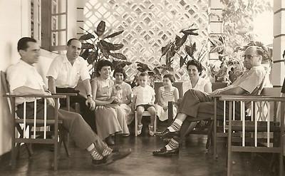 Familia Videira e Antonio Rocha