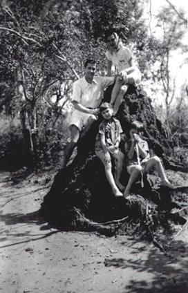 Familia Vitor Santos e morro de salale'