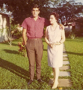 Luis Maldonado Ferreira e mae Lena