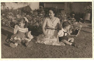 Andrada,  Jome', Elza e mae Bininha