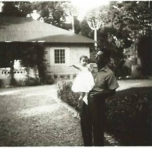 Botelho e filha Paula