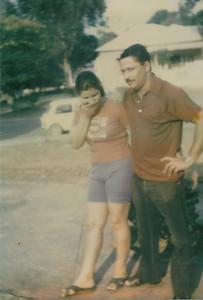 Isaac Coelho e Inês Coelho no Lucapa