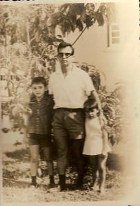Grova, filho João e filha Tita