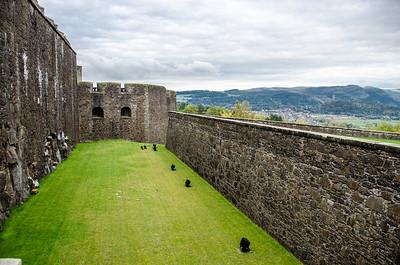 C - Stirling (Stirling Castle moat)