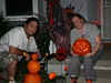 Posin' together (Halloween on our porch)