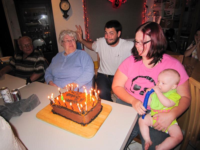 Eric, Kirsten & Shirley's Bday Family Dinner