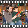Jr and Mommy reading a Christmas book featuring him! (Christmas Day)