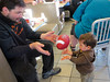 Thanks for the balls, Uncle Eric! (Matiaz's Rainy Bday at MCD)