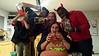 Photo taken to send to Kirsten's Mom, Kristi (Note Jr chugging the margarita mix!) (Trick-or-Treating at KPP)