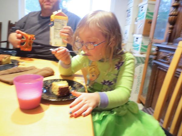Yum! (Anna's Birthday)