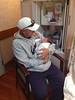 Rylan and his daddy, Timmer (Michael's Grand-Nephew, Rylan, is Born!)