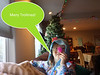 Floofy troll hair! (Christmas stocking randomness, shared via IM with those not present)