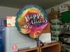 Two of my bday balloons didn't make it to the next day (all mylar). This one was a tad more persistant!