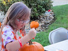 Concentration! (Pumpkin Carving on the Court)