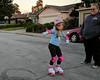 Karate moves for fall prevention! (New Roller Skates)
