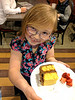 Nicole has a future as a display model (Thomas' Birthday Korean BBQ Dinner)
