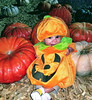 Rory is the Cutest Pumpkin at the Farm (Dell Osso Farms)