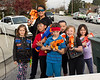 Team Red (L to R: Bella, Wiljen, Jerald, Eric Jr, Miranda, Nicole, and Sophia) (Battle part 2. Nicole's Nerf Battle Birthday Party)