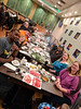 The whole crew (Hot Pot dinner for Michael's birthday at Little Dipper Shabu-Shabu in Dublin)