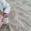 Rory likes this sand stuff (Kirsten Pic)