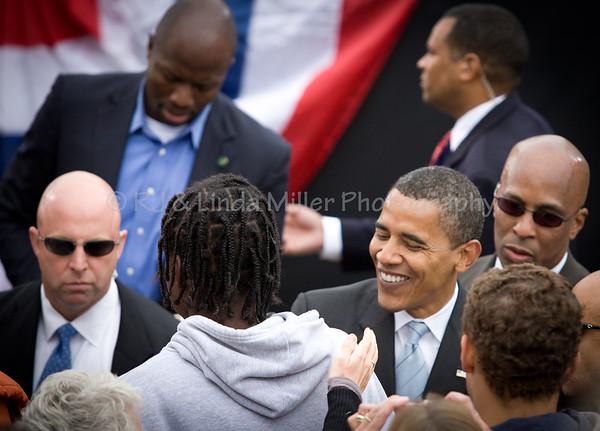 Barack Hussein Obama, President of the United States of America