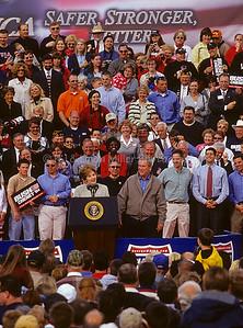 George W. Bush, President, United States of America