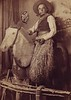 "Nicodemus Thuer, Union Station, Horse   ""Union Station Souvenir, St. Louis, Mo""   ""Grandpa Nicodemus Thuer"""